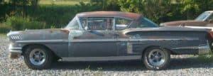 Old Chevy Impala car.