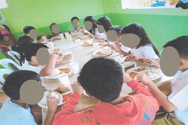 Children at Lunch