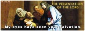 Presentation of Jesus - Anna and Simeon