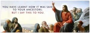 """Jesus on """"The Law and the Prophets"""""""