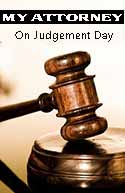 Book Cover: My Attorney on Judgement Day
