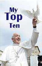 Book Cover: Pope Francis' Top Ten