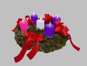 Advent Wreath Christmas Day