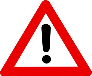 Sign: Alert!