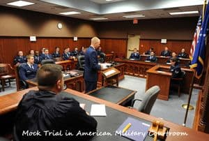 Mock American Military Court