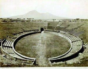 Image of Amphitheatre of Pompeii