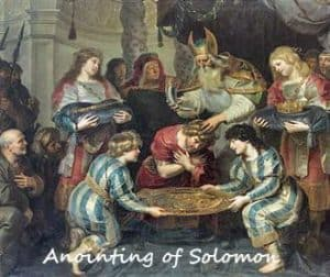 Anointing of Solomon