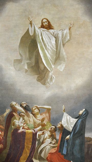Image of Jesus' Ascension