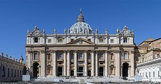 Basilica of St Peter, Rome.