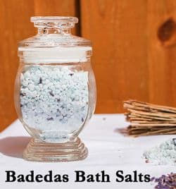 Jar of Bath Salts