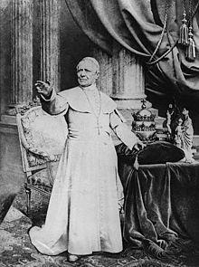 Photograph of St Pius IX
