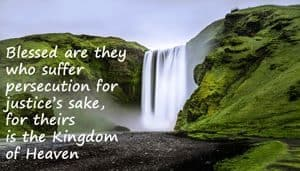 """Quotation: """"Blessed are they who suffer..."""""""