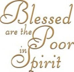 Quote: Blessed are...