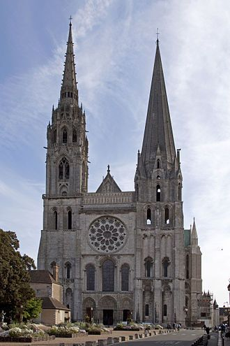 Picture of the Cathedral of Chartres