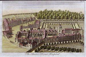 Sketch of Charterhouse in 1770