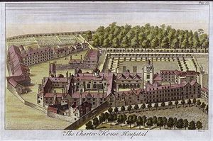 Sketch of Charterhouse in 1770