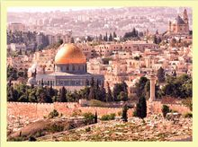 View across the City of Jerusalem