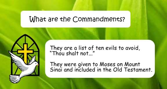 Q&A: What are the Commandments?