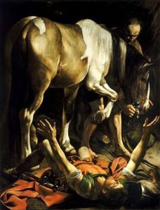 St Paul thrown from his horse