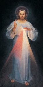 Image of Divine Mercy.