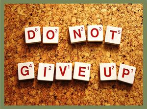 Quote: Do Not Give Up