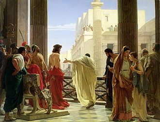 Painting: Ecce Homo by Antonio Ciseri