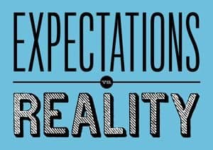 Words: Expectation and Reality