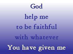 Faith Prayer