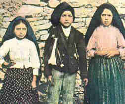 Photograph of the Three Fatima Children