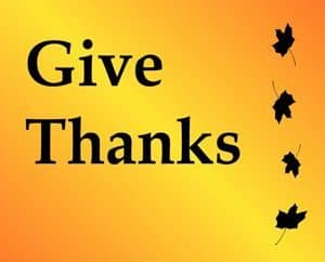 Quote: Give Thanks
