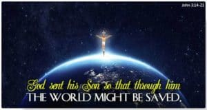 Cross on top of Earth
