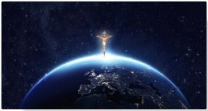 Cross on top of the world