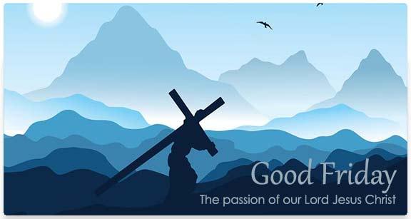 Good Friday: Jesus Carrying Cross