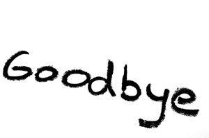 """Word: """"Goodbye"""""""