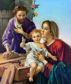 Image of the Holy Family