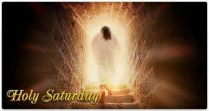 Risen Jesus: Holy Saturday
