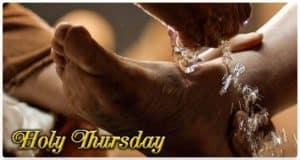 Holy Thursday: Washing of Feet