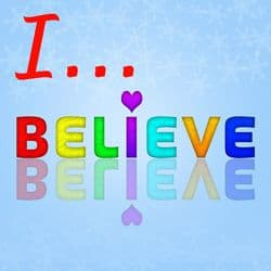 "Words: ""I Believe"""