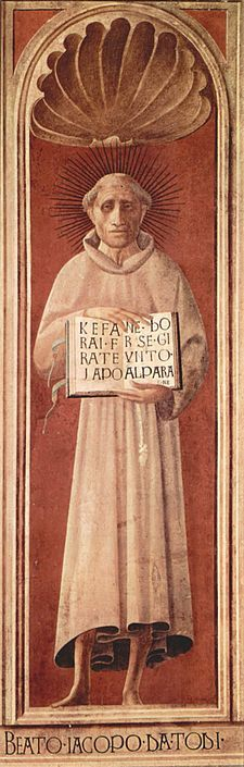 Statue of Jacopone da Todi