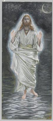 Sketch: Jesus walking on water