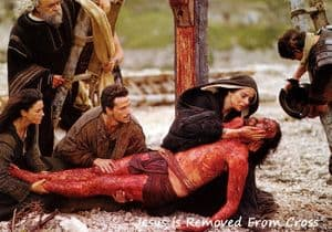 Jesus, having been taken down from His Cross