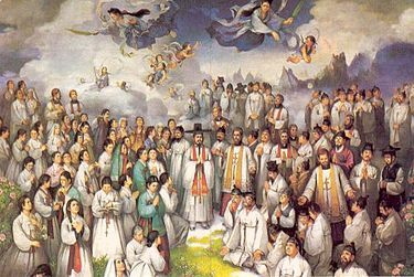Composite image of Korean Martyrs