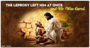 Leprosy Quote