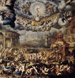 Scene of the Last Judgement
