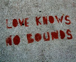 "Quote: ""Love knows..."""