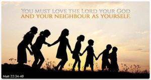 Quote: Love the Lord...