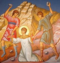 Stoning to death of St Stephen