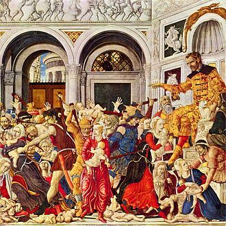 Image depicting the Massacre of the Holy Innocents