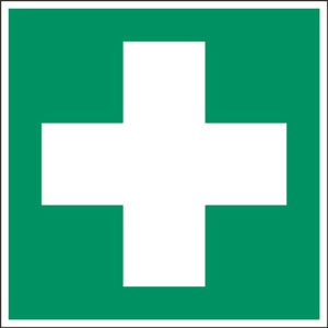 Sign: First Aid