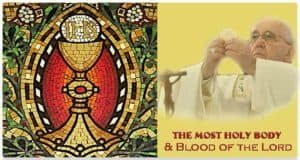 MostHoly Body & Blood of Jesus